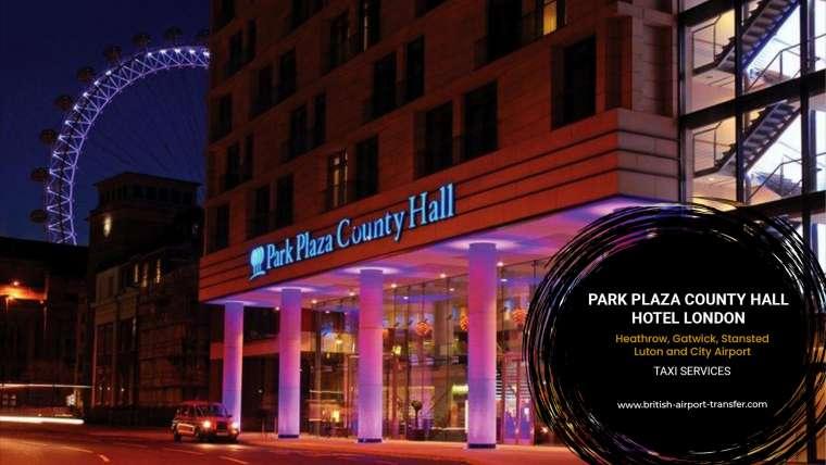 Taxi Service – Park Plaza County Hall Hotel London / SE1 7RY