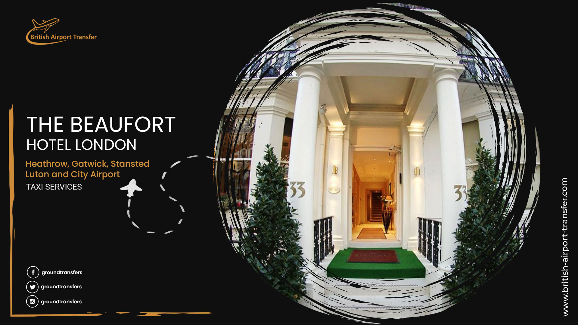 Taxi Service – The Beaufort Hotel London / SW3 1PP