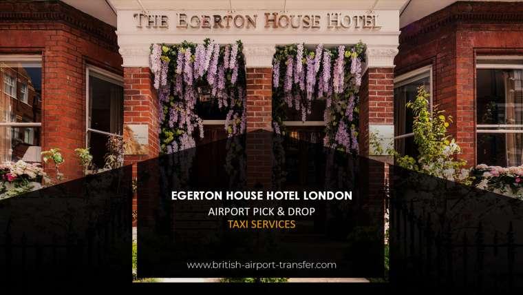Taxi Cab – Egerton House Hotel London / SW3 2BX
