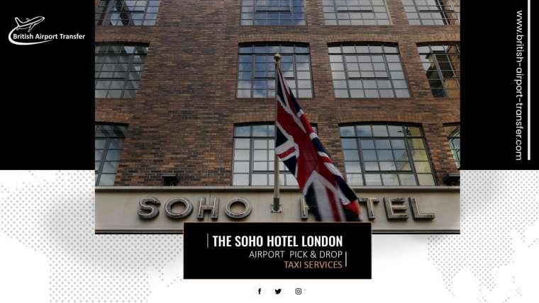 Taxi Cab – The Soho Hotel London / W1D 3DH