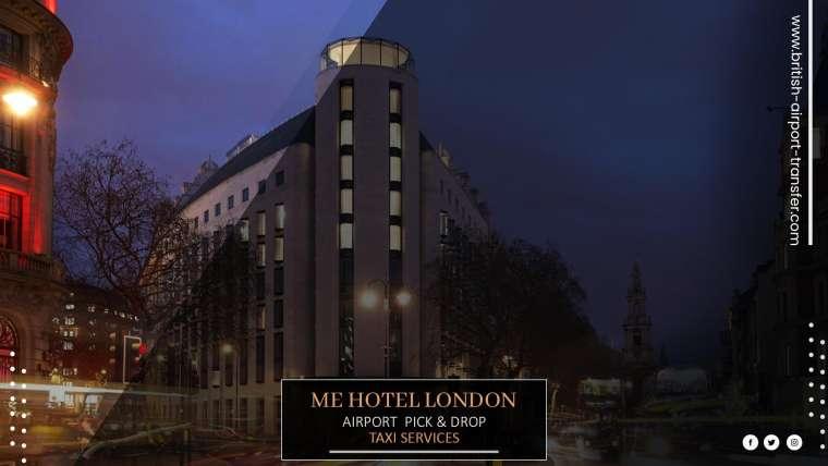 Taxi Cab – ME Hotel London / WC2R 1HA