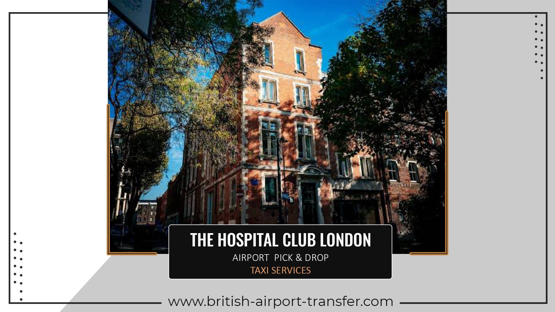 Taxi Cab – The Hospital Club London / WC2H 9HQ