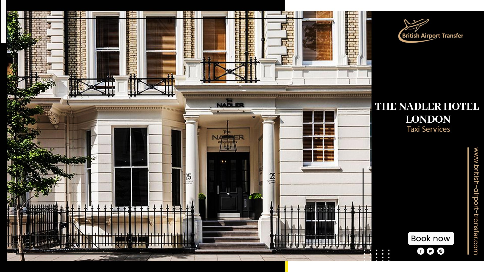 Taxi Cab – The Nadler hotel London
