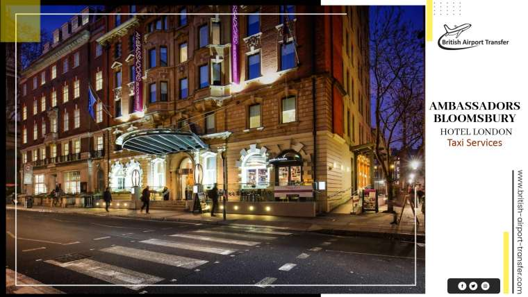 Taxi Cab – Ambassadors Bloomsbury Hotel London / WC1H 0HX