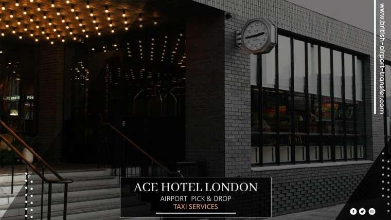 Taxi Cab – Ace Hotel London Shoreditch / E1 6JQ
