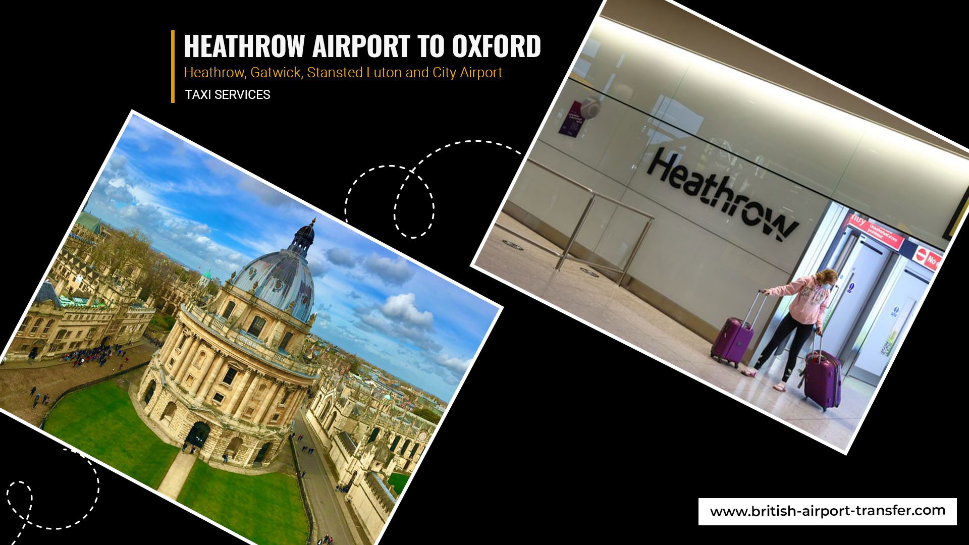 Taxi Service – Heathrow Airport to Oxford